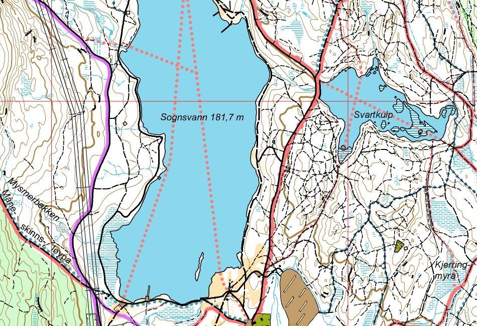 kart sognsvann Turkart | Nydalens Skiklub kart sognsvann